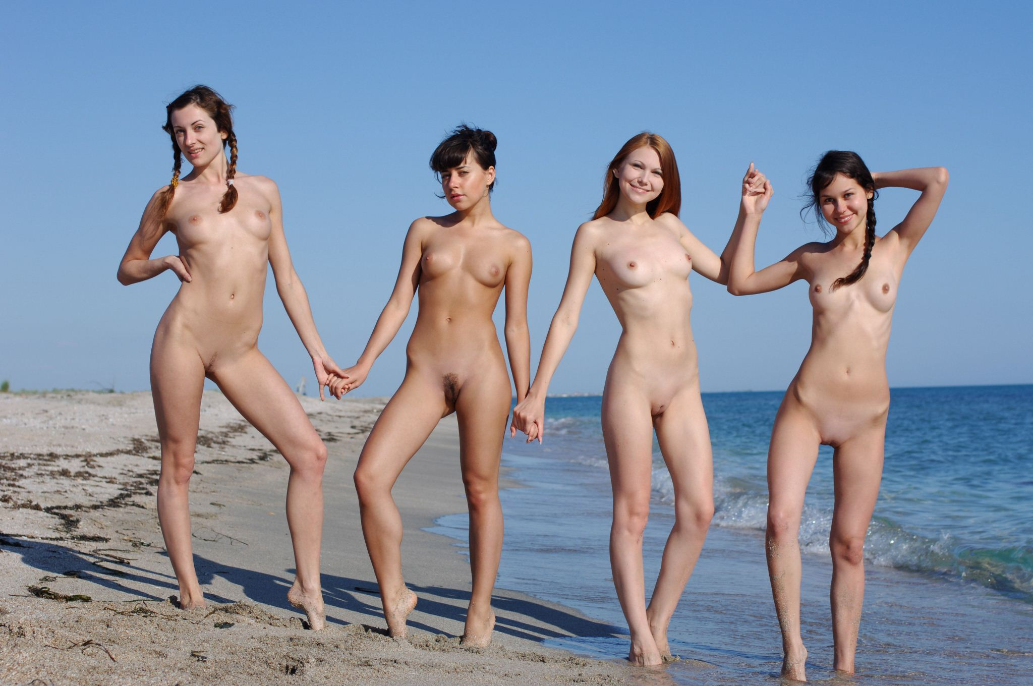 Small virgin nudist