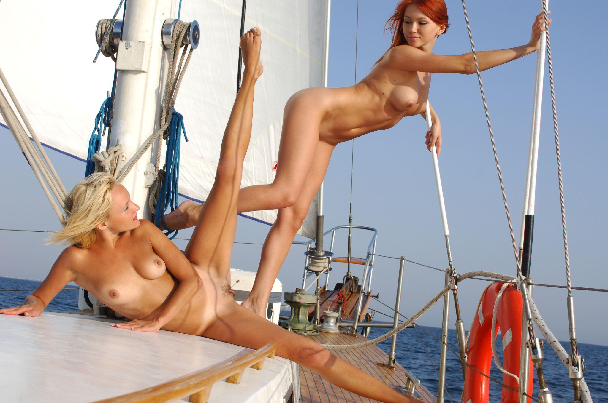 Эротика видео яхта массаж #7